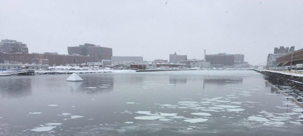 More snowy scenes